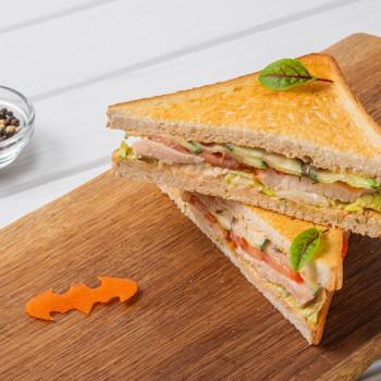 Сэндвич с курицей су-вид